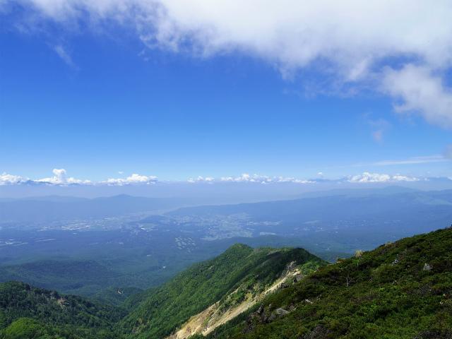 八ヶ岳・天狗岳(西尾根~黒百合平周回) 登山口コースガイド 西天狗山頂からの中央アルプス【登山口ナビ】