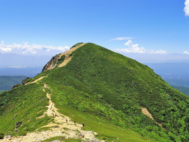 八ヶ岳・天狗岳(西尾根~黒百合平周回) 登山口コースガイド 東天狗山頂からの西天狗【登山口ナビ】