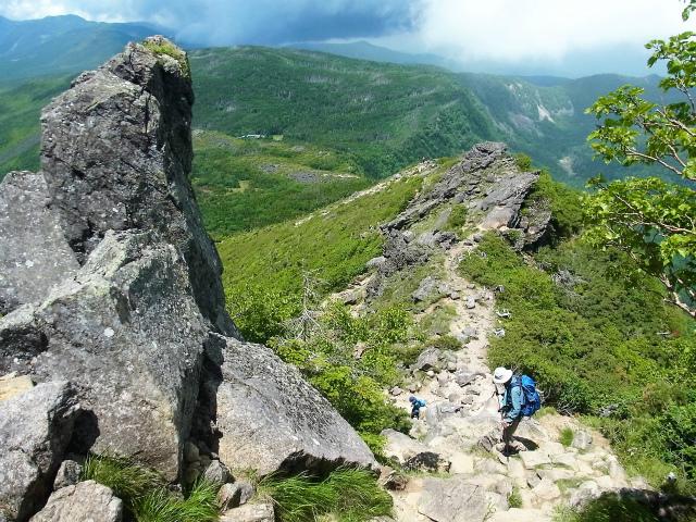 八ヶ岳・天狗岳(西尾根~黒百合平周回) 登山口コースガイド【登山口ナビ】