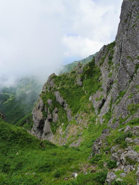 八ヶ岳・赤岳(天狗尾根) 登山口コースガイド 大天狗の絶壁【登山口ナビ】