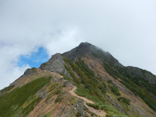八ヶ岳・赤岳(天狗尾根) 登山口コースガイド 龍頭峰への縦走路【登山口ナビ】