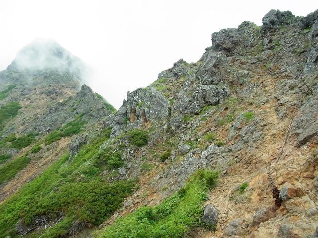 八ヶ岳・赤岳(天狗尾根) 登山口コースガイド 縦走路【登山口ナビ】
