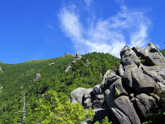金峰山・五丈石(アコウ平~表参道)登山口コースガイド 奇岩群【登山口ナビ】