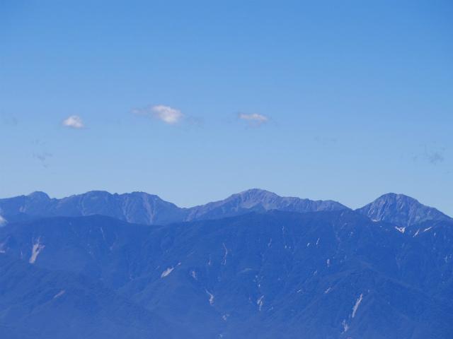 金峰山・五丈石(アコウ平~表参道)登山口コースガイド 山頂直下からの南アルプス白根三山の眺望【登山口ナビ】
