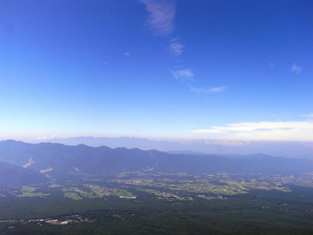 八ヶ岳・編笠山(観音平~青年小屋周回) 登山口コースガイド 編笠山山頂からの中央アルプス【登山口ナビ】