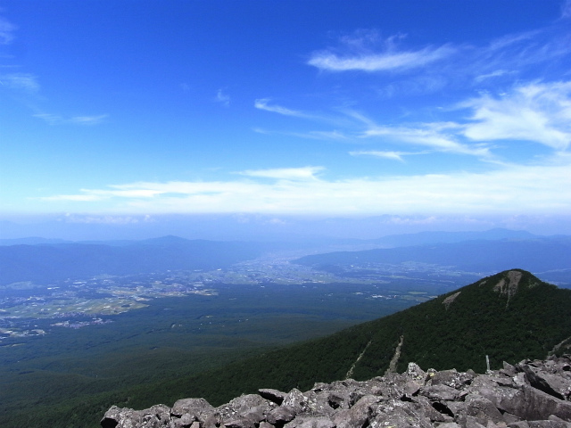 八ヶ岳・編笠山(観音平~青年小屋周回) 登山口コースガイド 編笠山山頂からの西岳と北アルプス【登山口ナビ】