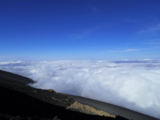 富士山・宝永山(富士宮口) 登山口コースガイド 宝永山山頂からの展望【登山口ナビ】