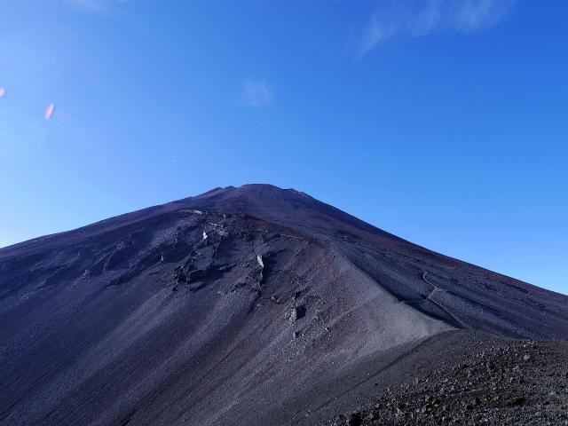 富士山・宝永山(富士宮口) 登山口コースガイド 馬の背からの富士山【登山口ナビ】