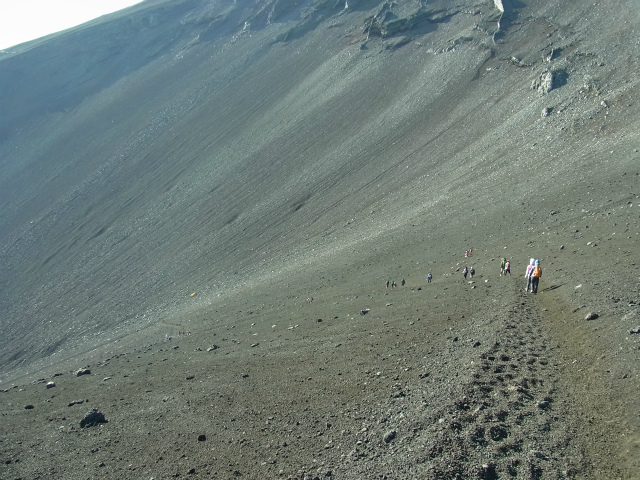 富士山・宝永山(富士宮口) 登山口コースガイド 馬の背分岐【登山口ナビ】