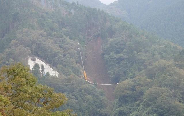 【丹沢主脈】国道413号線(道志みち)の崩落現場【登山口ナビ】