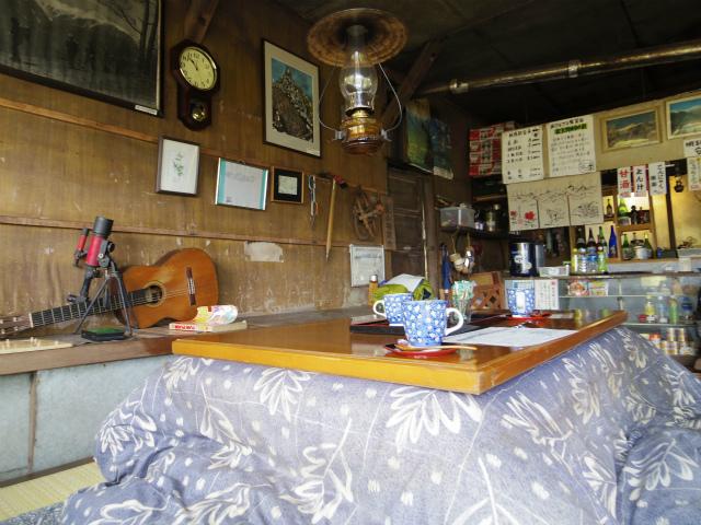 高谷山(夜叉神峠~桧尾峠周回)登山口コースガイド 夜叉神峠小屋のコーヒー【登山口ナビ】