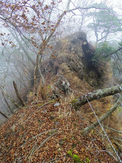 蛭ヶ岳(源蔵尾根~臼ヶ岳)登山口コースガイド 痩せ尾根【登山口ナビ】