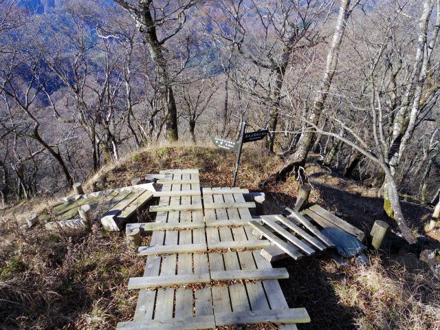 檜洞丸(板小屋沢~石棚山稜) 登山口コースガイド 西丹沢県民の森分岐【登山口ナビ】