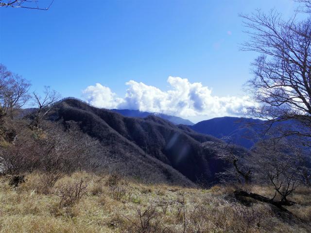 檜洞丸(板小屋沢~石棚山稜) 登山口コースガイド 同角山稜越しの丹沢山【登山口ナビ】
