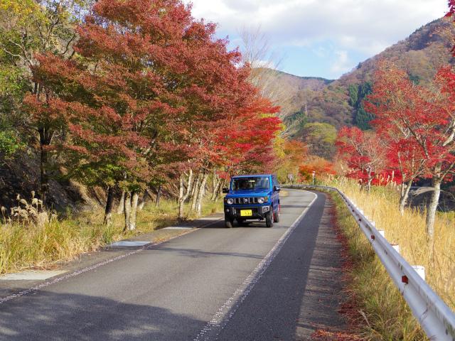 【登山試乗記】スズキ・ジムニー XC 4AT(JB64W)丹沢湖【登山口ナビ】