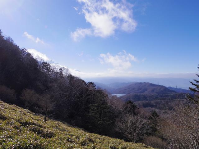 大菩薩嶺(旧道~唐松尾根周回コース) 登山口コースガイド 旧道からの富士山【登山口ナビ】