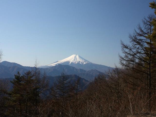 秀麗富嶽十二景 6番山頂 登山口コースガイド扇山山頂【登山口ナビ】