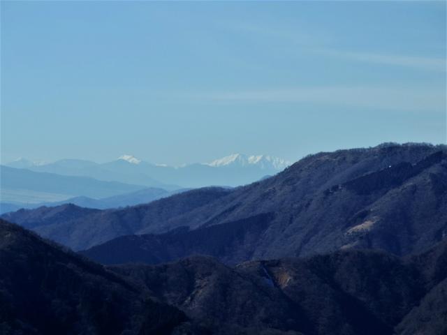 大山(不動尻~唐沢峠)登山口コースガイド 富士見台からの南アルプスの眺望【登山口ナビ】