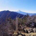 三ツ峠山(本社ヶ丸~清八山)【登山口コースガイド】