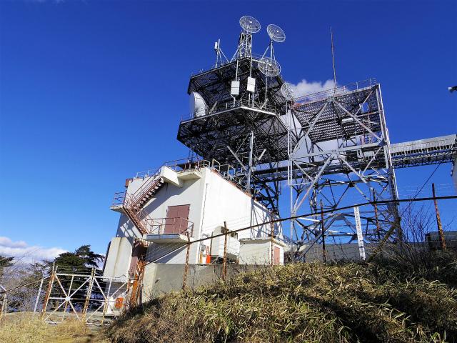 三ツ峠山(北口登山道)登山口コースガイド NTT電波塔【登山口コースガイド】