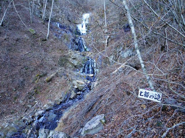 三ツ峠山(北口登山道)登山口コースガイド 七福の滝【登山口コースガイド】