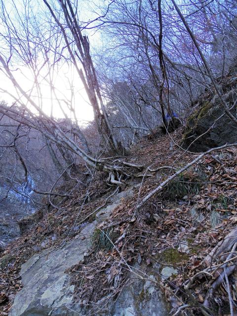 三ツ峠山(北口登山道)登山口コースガイド 急登【登山口コースガイド】