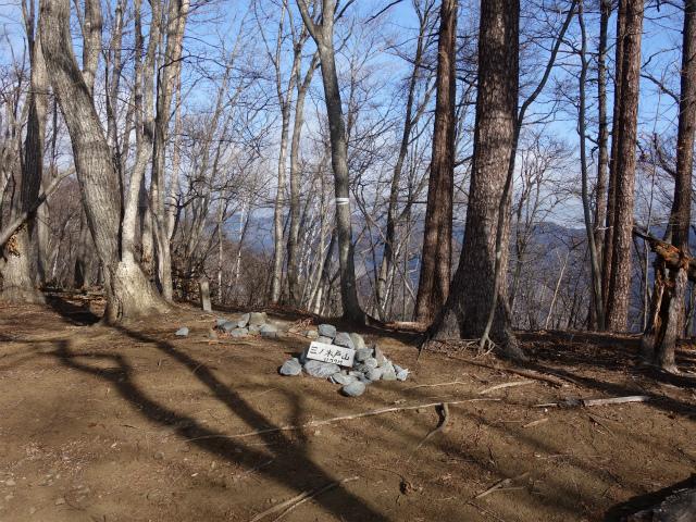 鷹ノ巣山(六ツ石山~石尾根縦走路)登山口コースガイド 三ノ木戸山山頂【登山口ナビ】