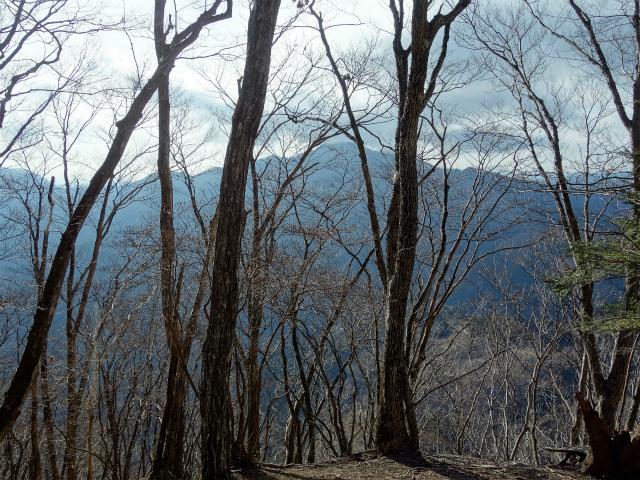 鷹ノ巣山(六ツ石山~石尾根縦走路)登山口コースガイド 三ノ木戸山山頂からの御前山【登山口ナビ】