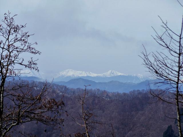 鷹ノ巣山(六ツ石山~石尾根縦走路)登山口コースガイド 六ツ石山山頂からの白根三山【登山口ナビ】