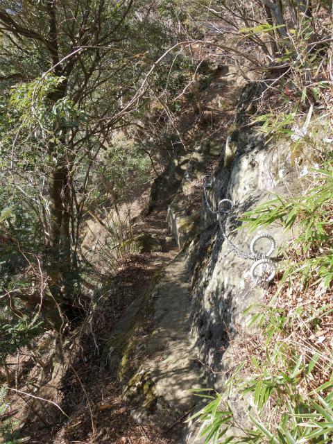 丹沢山(宮ケ瀬~丹沢三峰)登山口コースガイド 横ばいの鎖場【登山口ナビ】