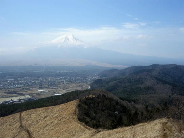 杓子山(鳥居地峠~高座山)登山口コースガイド 富士山の眺望【登山口ナビ】