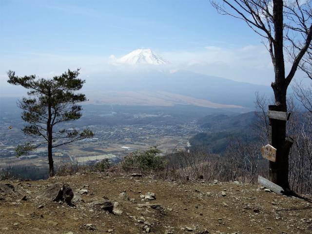 杓子山(鳥居地峠~高座山)登山口コースガイド 高座山山頂【登山口ナビ】