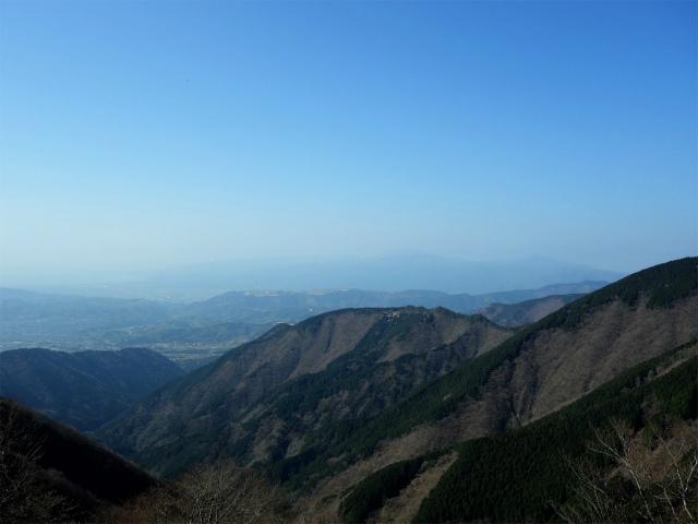 塔ノ岳(書策新道) 登山口コースガイド 尾根からの展望【登山口ナビ】