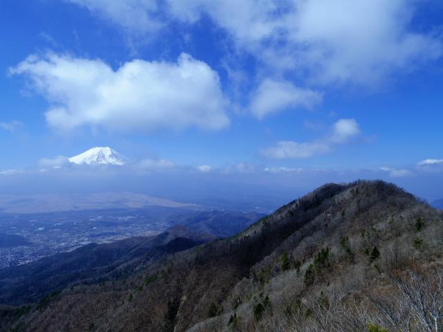 鹿留山(不動湯~杓子山)登山口コースガイド 露岩から富士山の展望【登山口ナビ】