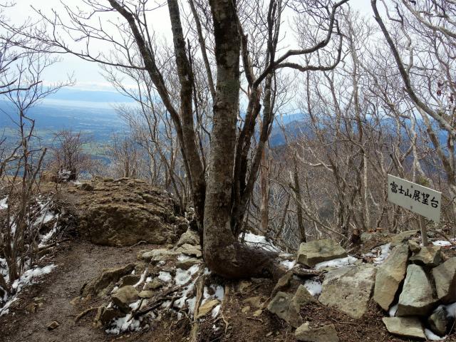毛無山(不動の滝コース)登山口コースガイド 露岩の富士山展望台【登山口ナビ】