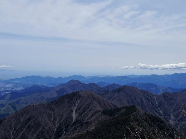 毛無山(不動の滝コース)登山口コースガイド 富士山展望台から身延山地の眺望【登山口ナビ】
