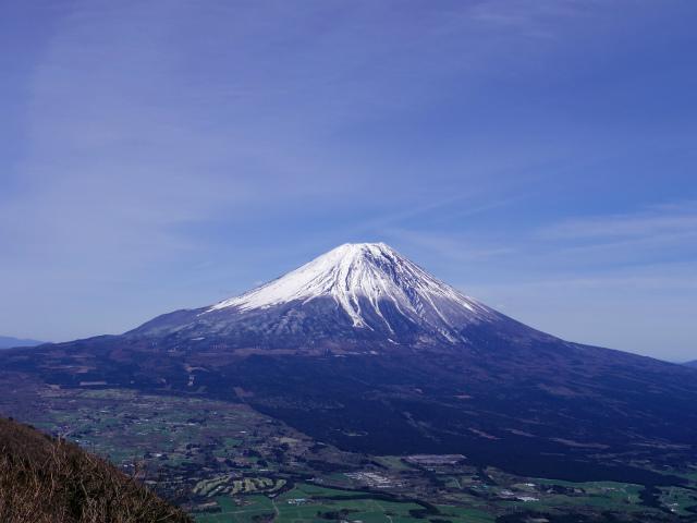 毛無山(不動の滝コース)登山口コースガイド 山頂からの富士山【登山口ナビ】