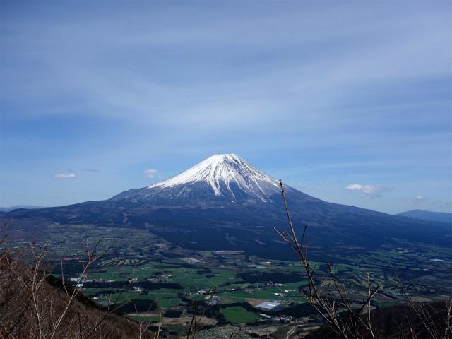毛無山(地蔵峠コース)登山口コースガイド 展望台からの富士山【登山口ナビ】