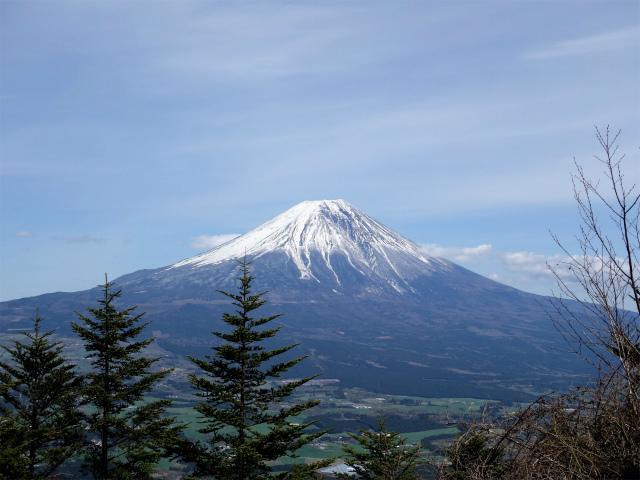 毛無山(地蔵峠コース)登山口コースガイド 地蔵峠からの富士山【登山口ナビ】