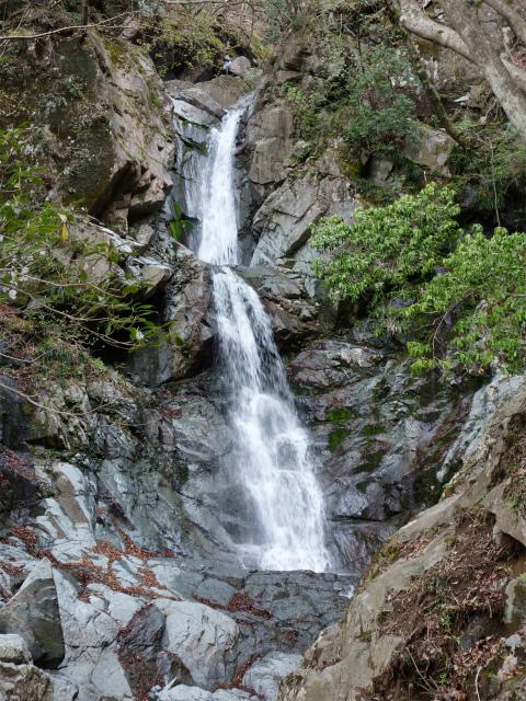 毛無山(地蔵峠コース)登山口コースガイド 比丘尼の滝【登山口ナビ】