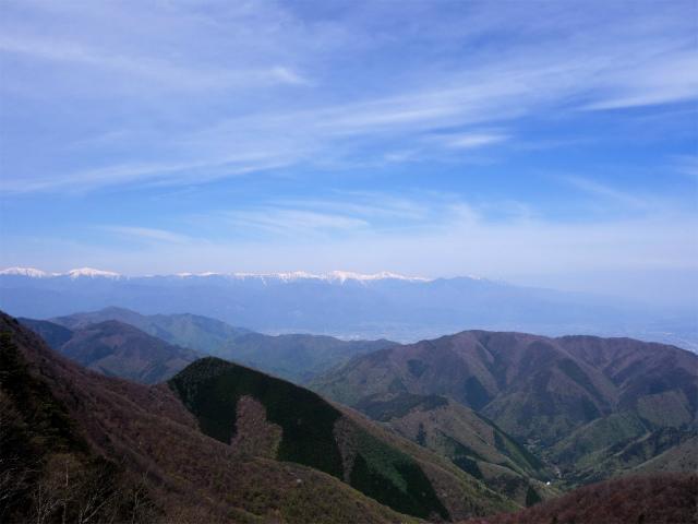 鬼ヶ岳(雪頭ヶ岳~鍵掛峠周回)登山口コースガイド 稜線のコブからの南アルプス(白根三山)【登山口ナビ】