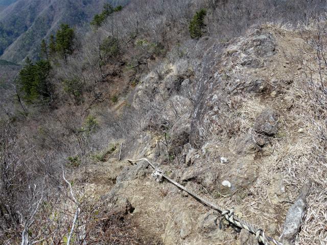 鬼ヶ岳(雪頭ヶ岳~鍵掛峠周回)登山口コースガイド ロープ【登山口ナビ】