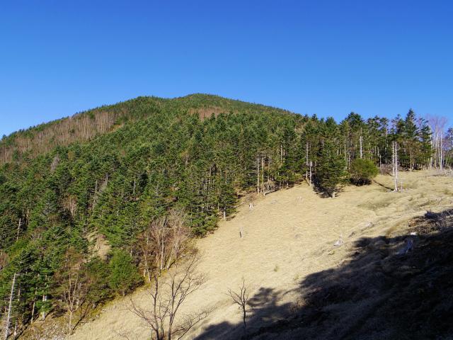 黒金山(桧尾~牛首のタル) 登山口コースガイド 牛首のタルからの黒金山【登山口ナビ】
