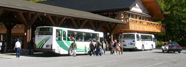 【北アルプス】上高地方面シャトルバス時刻表【登山口ナビ】
