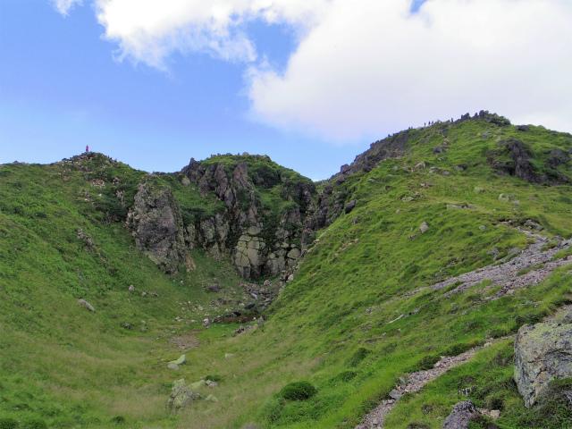 日光白根山(七色平~五色沼) 登山口コースガイド 山頂直下【登山口ナビ】