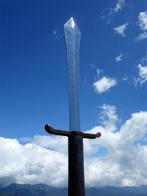 国師ヶ岳(天狗尾根) 登山口コースガイド 天狗岩の剣【登山口ナビ】