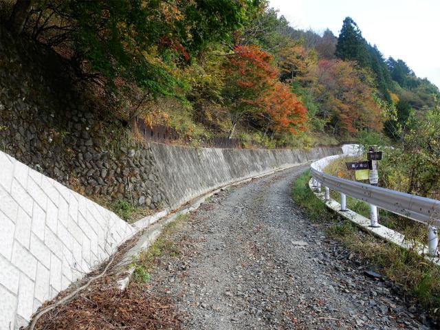 鷹ノ巣山(浅間尾根)登山口コースガイド 奥沢林道登山口【登山口ナビ】