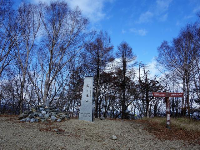 鷹ノ巣山(浅間尾根)登山口コースガイド【登山口ナビ】