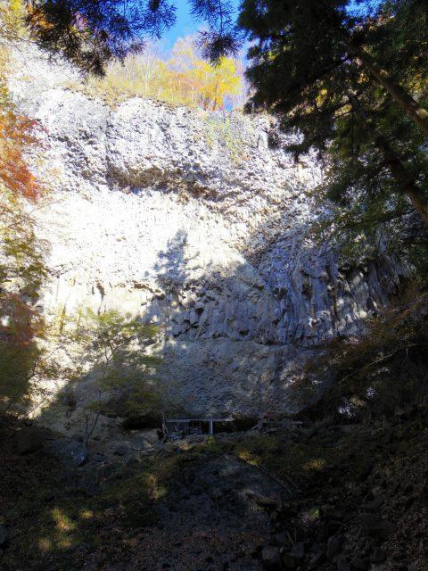 荒船山(威怒牟畿不動~艫岩~左岸コース周回)登山口コースガイド 不動滝【登山口ナビ】