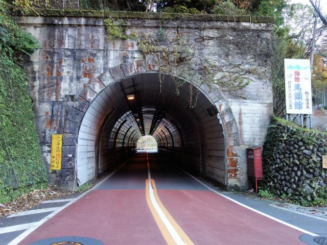 三頭山(ヌカザス尾根)登山口コースガイド 馬頭トンネル【登山口ナビ】